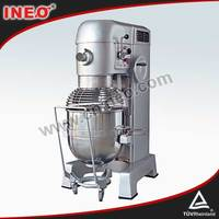 60L,2.8Kw,4 Speeds,Heavy Duty Flour Mixer Machine/Dough Mixer For Tortilla/Industrial Flour Mixer