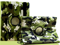 Generation Camouflage 360 Rotating Holder Stand Flip Smart PU Leather Case Cover For iPad Pro 12.9inch