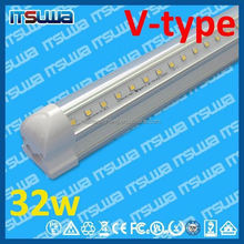 DLC listed 8feet LED tube light, T8 type 26mm, No Reason to Return