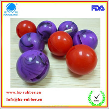 made in china Professional manufacture of hollow rubber ball