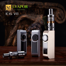 Lvapor high quality Authentic Box Mod Electronic Cigarette ICIG V8 30W vaporizer mod 0.2ohm/5.0ohm VV VW Box Mod ecig