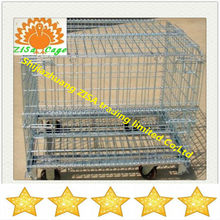 Foldable storage steel wire cage