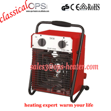 Portable waterproof hanging 220 volt electric heaters