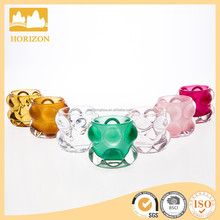 Glass Bubble candle holder