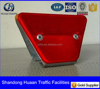 Reflective Guardrail delineator reflector road marking,double sides of reflector