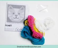 DIY craft yarn set,fashion Girl crafts multicolor string yarn set