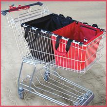 Hot Sale Portable Reusable Supermarket Shopping Bag Cart Bag Wholesale