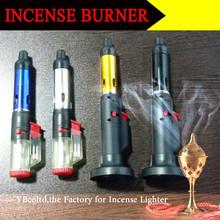 A-4 A-6 China Newest dry herb n vape pen click n vape incense burner lighter censer pen