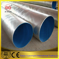API galvanized spiral welded construction steel tube from china alibaba