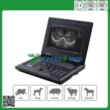 High performance YSVET0210 laptop veterinary ultrasound machine price