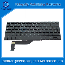 "Genuine New Retina UK Version 15"" Laptop Keyboard For Apple Macbook Pro A1398 Keyboard 2012 2013"