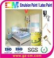 Barniz pared - emulsión Interior anti scratch acrílico pintura de aerosol
