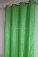 100% polyester jacquard window curtain design curtains