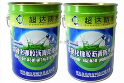 Non-cured rubber modified bitumen waterproof coating asphalt rubber emulsion