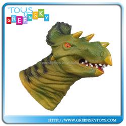 Popular Plastic Vinyl Dinosaur Hand Puppet For Sales