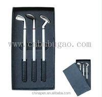 Unique items golf ball pen, ball pen golf ball shaped