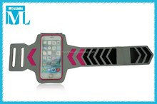 neoprene armband for i phone 6 plus/sports armband cover case
