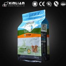 Stand up zip lock dog food bag packaging bag