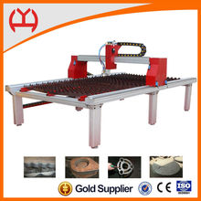 autocad metal cutting industry table plasma cutting machine
