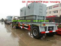 DTA semi Trailers truck 1 axle trailer Customization sale call:+86-152 -7135-7675
