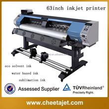 Economic machine! 1.6m YF-1700S DX5/DX7 head eco solvent inkjet printer