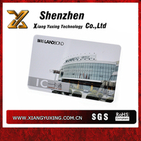 Personalized PVC visiting card with Standard ISO size