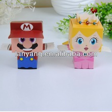 Wedding Favor Box Wholesale Cute MR & MRS Super Mario paper Gift Box