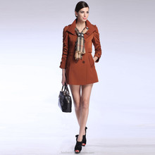 2014 New fashion coats models mature design for woman lady
