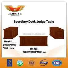 Court furniture Secretary Desk, Judge Table