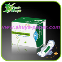 Cotton Anion Sanitary Pad for Night Use