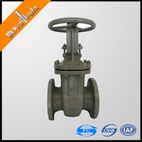Industrial flanged gate valve 3 inch chain wheel gate valve