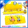 Wholesale 2015 new students stationery creative plastic school pencil case pencil case for teenagers