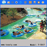 Exciting lazy river artificial river water park river