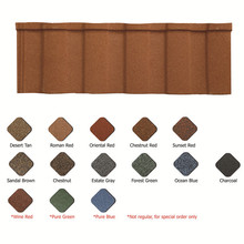 colorful asphalt shingles colored stone metal roof tile