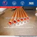 revestimiento de cobre de pared doble tubo de acero