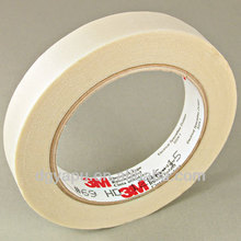 3M Scotch Glass Cloth Electrical Tape 69 White Silicone Adhesive