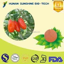 Herbal Medicine Extract Goji Berry P.E. / Barbury Wolfberry Fruit P.E. Strengthen Liver & Kidney & Improve Eyesight