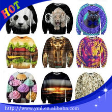 sublimation all over print crewneck sweatshirt
