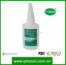 Excelente adhesivo de cianoacrilato para el cuero a metal