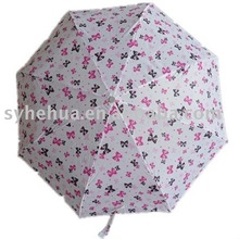 21''*8k Super Mini 3 Folding Rain Umbrella with Aluminum Frame