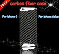 탄소 섬유 휴대 전화 케이스 아이폰 6