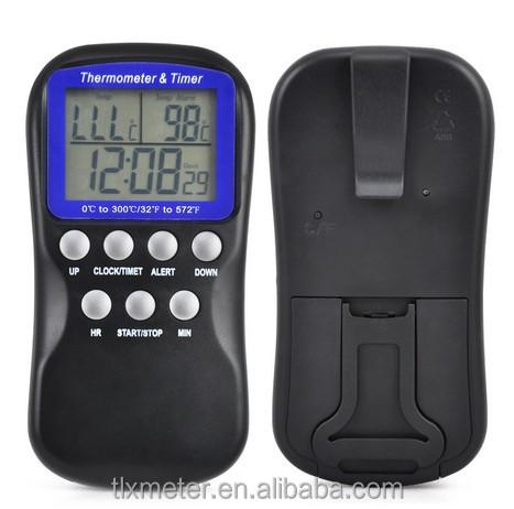 Digital Food termômetro para Grill / forno / carne para churrasco / Steak cozinha termômetro de cozinha com 1.3 m fio do Sensor