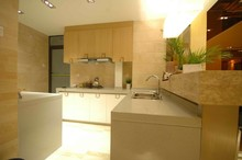 Heat resistant quartz stone slab hygienic 1.5cm quartz stone desk top