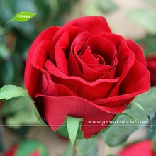 FLS08-6 red rose flower table wedding decoration artificial real touch flowers for wedding decoration