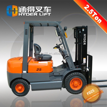 hot selling diesel safe forklift with clamp