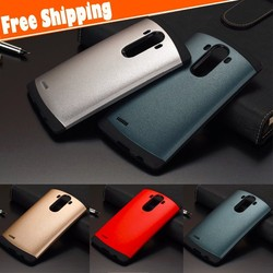 FREE SHIPPING colorfull slim hybrid PC TPU material hard shockproof armor case cover for LG G4 mobile case