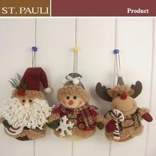 Dernières nouvel an suspendus en peluche de noël rennes mur décoration
