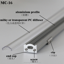 waterproofing aluminum profile for led