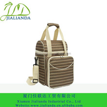 Hand and shoulder picnic 2 person cooler bag JLD-12101-09