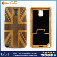 Creative wood phone case cover for Samsung,wood case for note 3